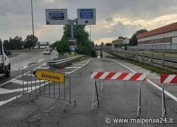 Next Sottopassaggio allagato dal temporale a Rescaldina: chiusa la Sp 527 Saronnese - malpensa24.it