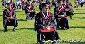 Weyburn grads presented scrolls in outdoor ceremonies - Weyburn Review