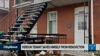Verdun tenant saves himself from renoviction - Video - CityNews Montreal
