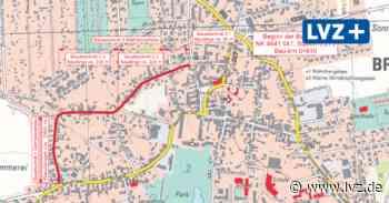 Kreis erneuert Straßen in Brandis und Göttwitz - Leipziger Volkszeitung