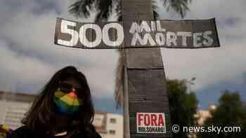 COVID-19: Number of coronavirus deaths in Brazil surpasses half a million - Sky News