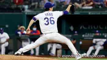 Rangers adquieren a Dennis Santana de Dodgers, colocan a Hyeon-Jong Yang para asignación - ESPN Deportes