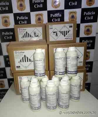 Juazeiro: Funcionário de empresa de adubos é preso suspeito de furto - Voz da Bahia
