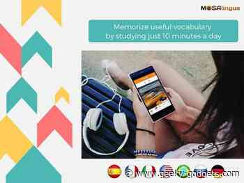 Reminder: Save 97% on the MosaLingua Language Learning Fluency Bundle - Geeky Gadgets