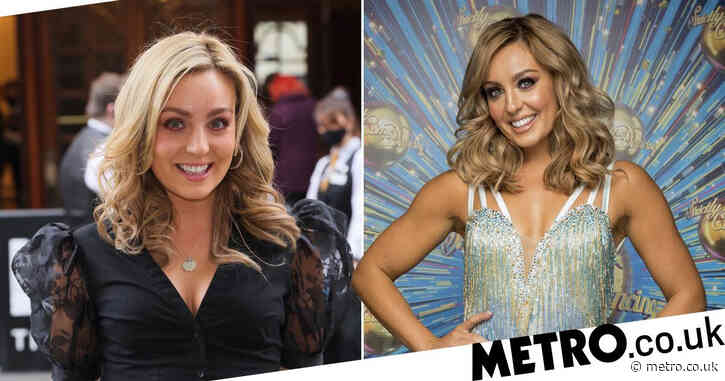 Strictly Come Dancing's Amy Dowden reveals she received online abuse for getting Covid vaccine early