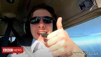 Buckinghamshire teen pilot halfway in solo round-the-world record bid