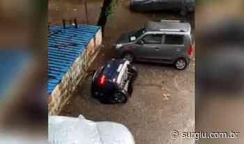 Assista: carro é engolido por sumidouro em estacionamento na Índia - Surgiu