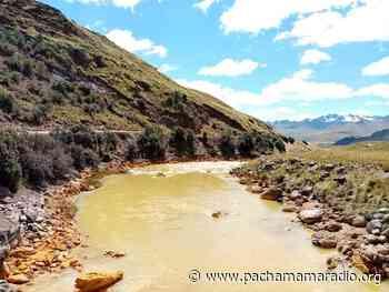 Piden reprogramar paro de 48 horas en la cuenca Llallimayo de Melgar - Pachamama radio 850 AM