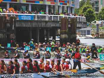 COVID-19: Dragon boats return to the water for the first time since the start of the pandemic