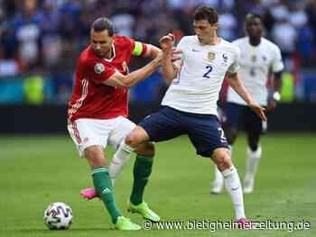 Fußball-EM: Dank Griezmann: Frankreich wendet Pleite gegen Ungarn ab - Bietigheimer Zeitung