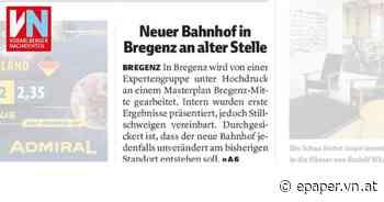 Neuer Bahnhof in Bregenz an alter Stelle - Vorarlberger Nachrichten | VN.AT