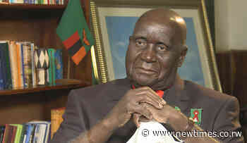 Kenneth Kaunda leaves behind 'a legacy of unity, selflessness' - The New Times