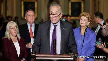 Democrats push for party unity as GOP unites to block voting rights bill - ABC News