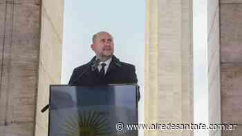 Omar Perotti encabezará en Rosario el acto central por el Día de la Bandera - Aire de Santa Fe