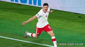 Lewa shows Spain what a top No. 9 looks like in Poland draw