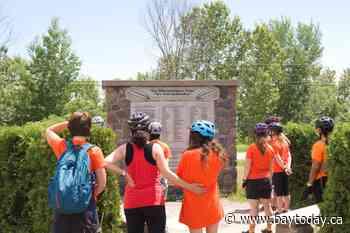 Bike ride honours survivors of residential schools