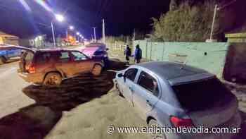 Río Gallegos: triple choque en el San Benito, un hombre fue llevado al Hospital - El Diario Nuevo Dia