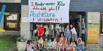 """Vier Kindern droht die Abschiebung: """"Sie sind doch keine Verbrecher"""" - Recklinghäuser Zeitung"""