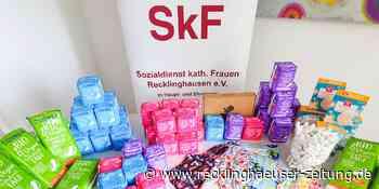 SkF verteilt kostenlos Binden und Tampons - Recklinghäuser Zeitung