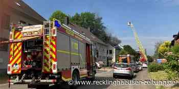 Am Wasserwerk: Dachgeschosswohnung brennt – Bewohner unverletzt - Recklinghäuser Zeitung