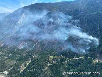 Wildfire near Lytton grows, evacuation alert remains in effect