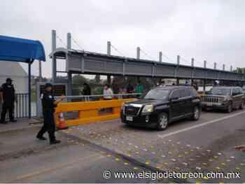 Aplicarán piloto para agilizar cruce fronterizo de Piedras Negras a EUA - El Siglo de Torreón