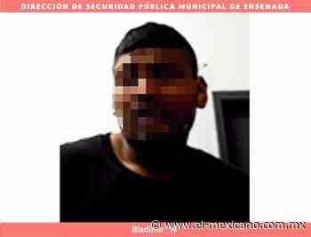 Detenido por lanzar piedras a los carros en Ensenada - El Mexicano Gran Diario Regional