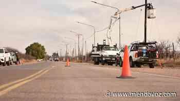 Más inversión en obras eléctricas en Santa Rosa - Mendovoz