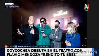 ¡Volvió el teatro! Mirá cómo lo vivieron Flavio Mendoza, Flor de la V y Juan Pablo Geretto - Perfil.com
