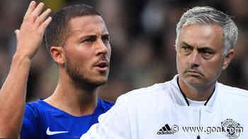 'He doesn't work much' - Hazard is an amazing player but an 'awful' trainer, Mourinho charges