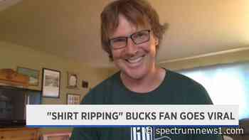 Meet the Bucks fan who made a 'Hulk Hogan' move during Game 6 - Spectrum News 1
