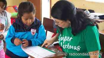 Buscan mejorar hábitos lectores en estudiantes de educación primaria en Lampa - Radio Onda Azul