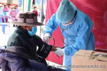 Lampa: los martes y jueves vacunarán contra la covid-19 a mayores de 60 años - Pachamama radio 850 AM