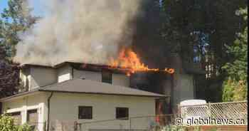 Lake Country residents break into burning home to save puppies