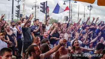 Bordeaux : devant France-Hongrie en terrasse, comme « un avant-goût de la normalité » - Sud Ouest