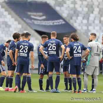 Les Girondins de Bordeaux sous la menace d'un redressement judiciaire - L'Équipe.fr