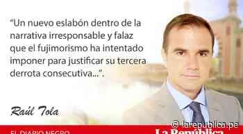 Yo, el supremo, por Raúl Tola - LaRepública.pe