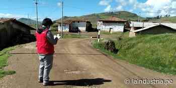 Municipio de Santiago de Chuco recibió obra inconclusa | TRUJILLO - La Industria.pe