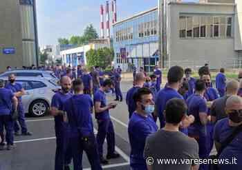 Lavoro Dimezzati i premi di risultato, sciopero allo stabilimento Leonardo di Venegono Superiore - varesenews.it