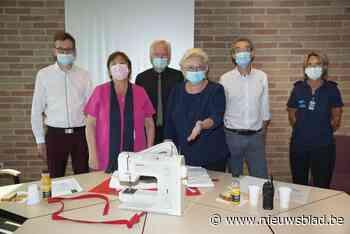 SNT schenkt tien naaimachines aan gevangenis van Brugge - Het Nieuwsblad