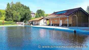 Naturschwimmbad Schonach - Freibad öffnet am 25. Juni - Schwarzwälder Bote
