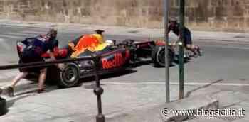 La Formula 1 sbarca a Palermo, sfreccia in centro la Red Bull (VIDEO) - BlogSicilia.it