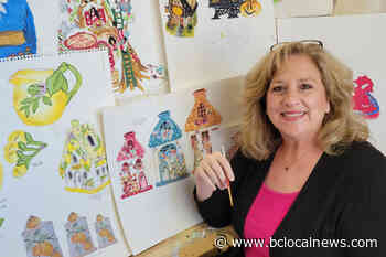 Lantzville artist showcasing spring-themed ceramics and concept paintings – BC Local News - BCLocalNews