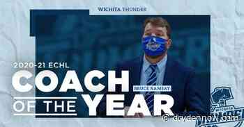 Bruce Ramsay awarded GM/Coach of the Year - DrydenNow.com
