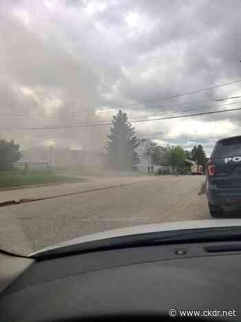 UPDATE: Dryden Fire Service Puts Out Hillcrest Fire - ckdr.net