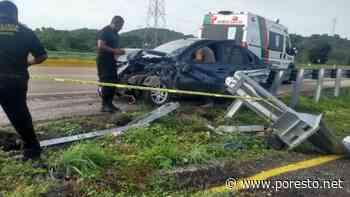 Vecino de Ciudad Caucel choca en la carretera Campeche-Mérida - PorEsto