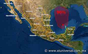 SMN prevé formación de ciclón frente a costas de Tabasco, Campeche y Yucatán | El Universal - El Universal