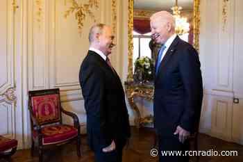 Partido Republicano cuestionó a Biden por reunirse con Putin en Ginebra - RCN Radio