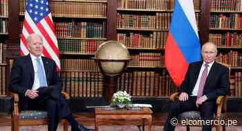 Los acuerdos (y desacuerdos) en la histórica cumbre entre Biden y Putin en Ginebra - El Comercio Perú