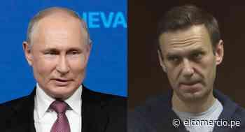Cumbre de Ginebra: Putin dice que el opositor Alexei Navalny quería ser detenido deliberadamente - El Comercio Perú